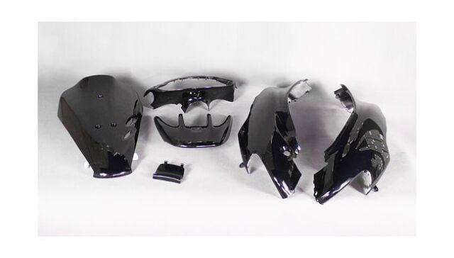 Пластик Honda Dio ZX AF35 GBL со спойлером, чёрный артикул  CFP50-10-027 black