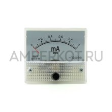Аналоговый амперметр 85C1, 0.001, 1mA