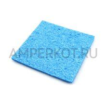 Губка для очистки жала паяльника 6x6 см синяя