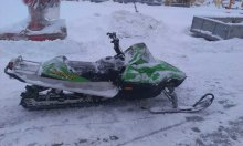 снегоход ARCTIC CAT MOUNTAIN CAT600
