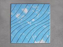 Тротуарная плитка Волна цветная