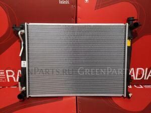 Радиатор двигателя на Hyundai IX35 EL