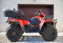 POLARIS polaris sportsman touring 2013