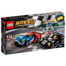 LEGO Speed Champions 75881 Ford GT и 1966 Ford GT40