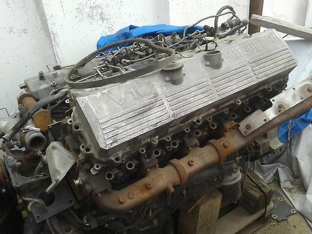 Двигатель на MITSUBISHI 8m21