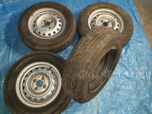 Шины Bridgestone V600 0/-R13LT летние