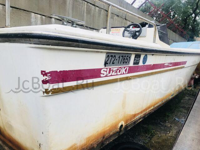 лодка пластиковая SUZUKI  suzuki F 230,  длина 23,5 фут 1992 г.