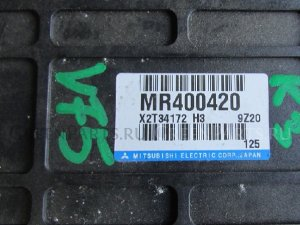 Блок abs на Mitsubishi Pajero v65, v75, v65w, v75w, v73w, v78, v68 6G74, 6G74GDI MR400420