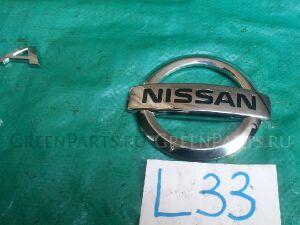 Эмблема на Nissan Teana L33 QR25DE 848903TA0A