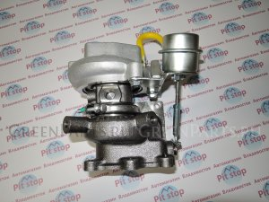 Турбина на Nissan Caravan E24 TD27 14411-7T600, 14411-31N03, 14411-31N06, 14411-63G00