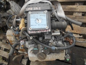 Двигатель на Honda Life JB1 E07Z