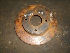 Тормозной диск на Nissan Wingroad WFY11 4x114,3