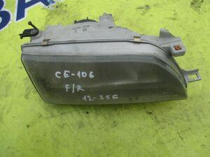 Фара на Toyota Corolla CE106 12-356