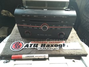 Магнитофон на Mazda Axela BK3P L3-VE