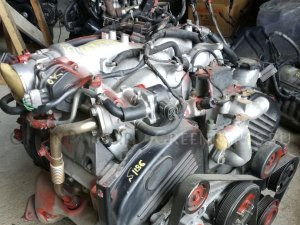 Двигатель на Mitsubishi Pajero V75W 6G74 1186 /