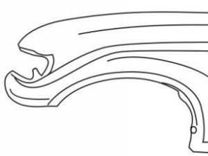 Крыло на Toyota LANDCRUISER 80