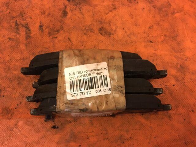 Тормозные колодки на Nissan Note E11, NE11