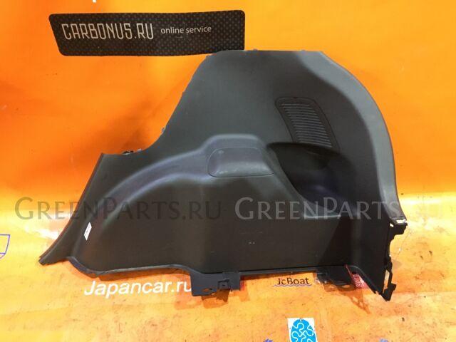 Обшивка багажника на Toyota Vitz KSP90