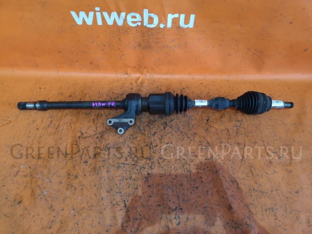 Привод на Mazda Demio DY3W ZJ-VE
