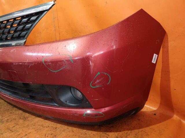 Бампер на Nissan Tiida C11 02B2704