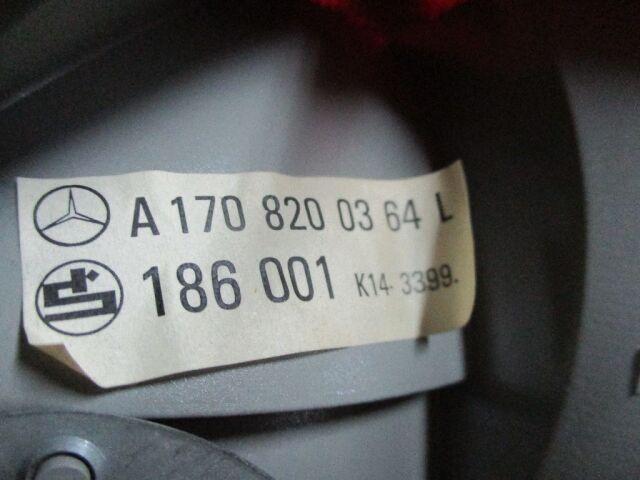 Стоп на Mercedes-benz SLK R170.447