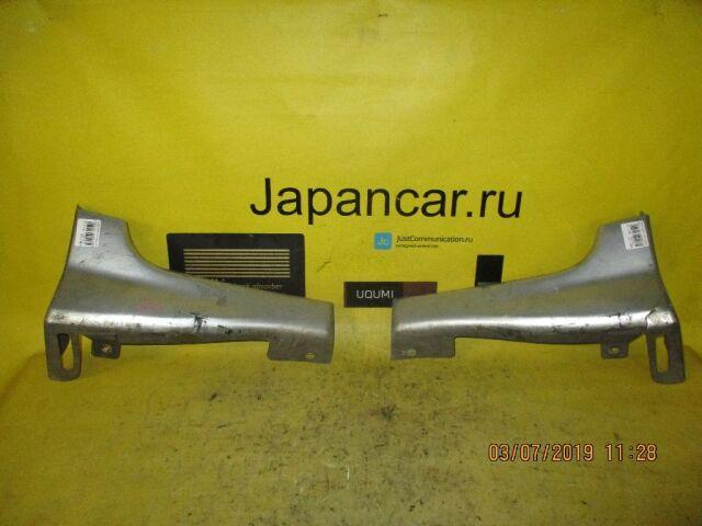 Накладка на бампер на Subaru Forester SG5