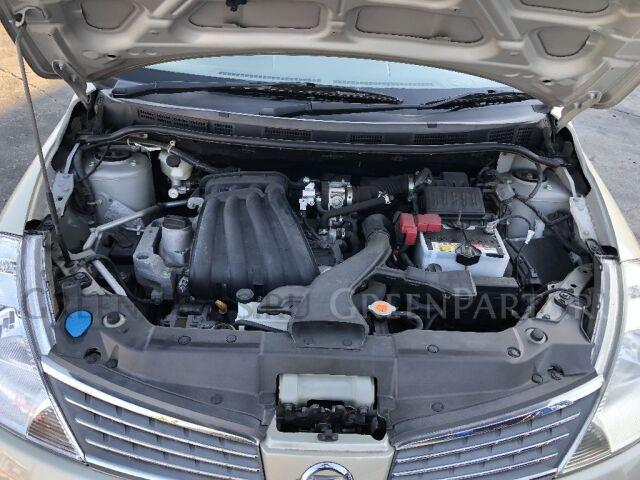 Решетка под лобовое стекло на Nissan Tiida Latio SC11