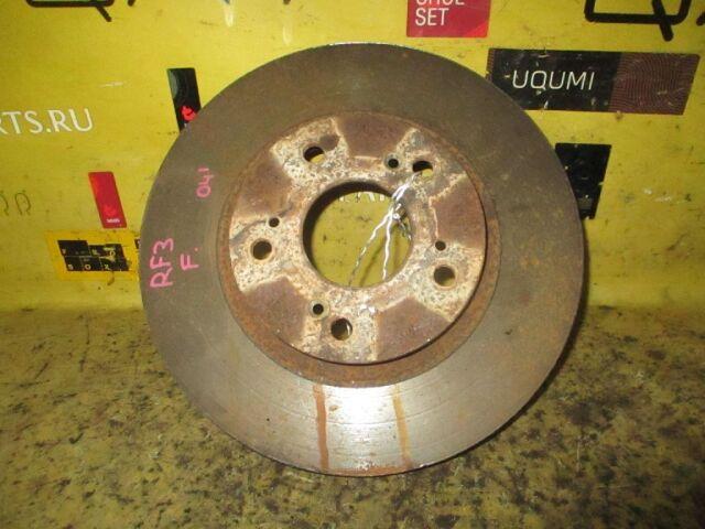 Тормозной диск на Honda Stepwgn RF3 K20A