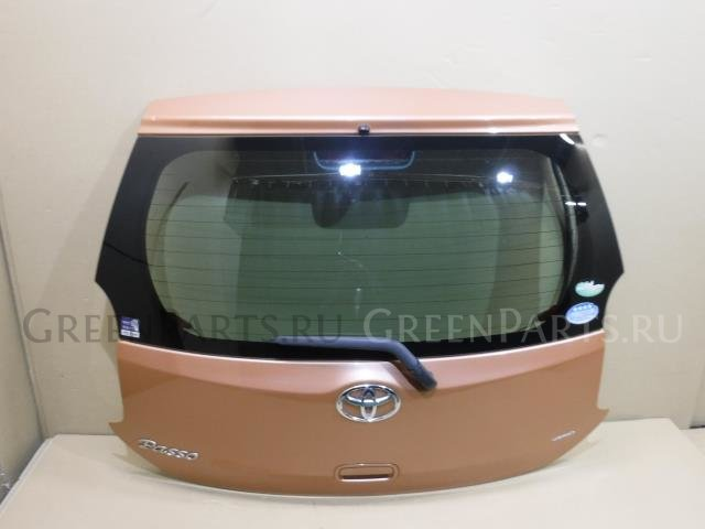 Дверь задняя на Toyota Passo KGC35 1KR-FE