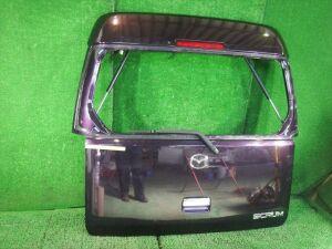 Дверь задняя на Mazda Scrum DG64W K6A-DET