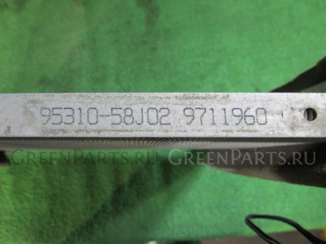 Радиатор кондиционера на Nissan Pino HC24S K6A