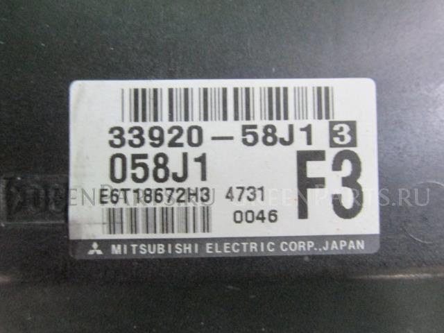 Блок efi на Mazda Az-wagon MJ21S K6A