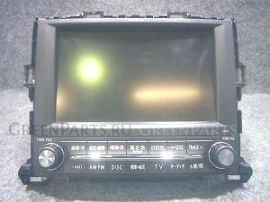 Автомагнитофон на Toyota Alphard GGH25W 2GR-FE