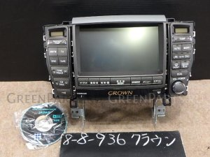 Автомагнитофон на Toyota Crown GRS183 3GR-FSE