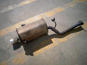 Глушитель на Subaru Forester SG5 EJ203
