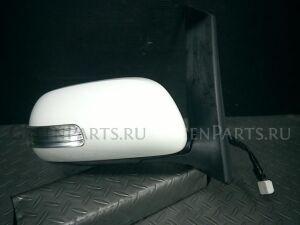 Зеркало двери боковой на Toyota Isis ZGM10G 2ZR-FAE