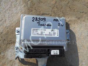 Блок управления двигателем на Hyundai Tucson Tucson (JM) 2004-2010