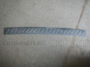 Накладка на бампер на Mitsubishi PAJERO 3