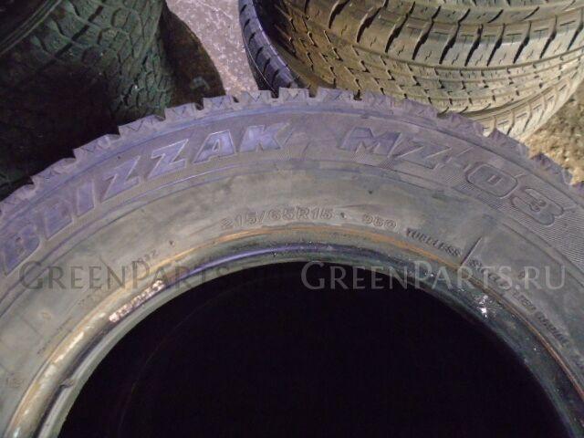 шины Bridgestone Blizzak MZ03 215/65R1596Q всесезонные