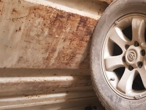 Шины Goodyear 265/65R17 на дисках Toyota R17