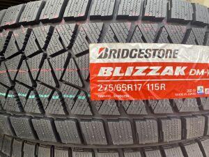 Шины JAPAN 2020 год Bridgestone Blizzak DM-V2 275/65R17 зимние