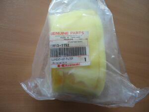 Фильтр воздушный на KAWASAKI KLR650 ОЕМ: 11013-1152