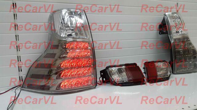 Стоп на Toyota Land Cruiser Prado TRJ12, GDJ150W, GDJ151W, TRJ150, KDJ150L, GRJ150W,