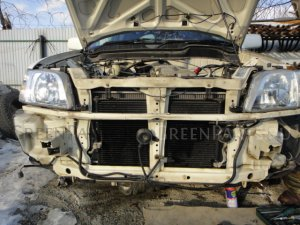 Радиатор кондиционера на Honda CR-V RD1 RD2 B20B