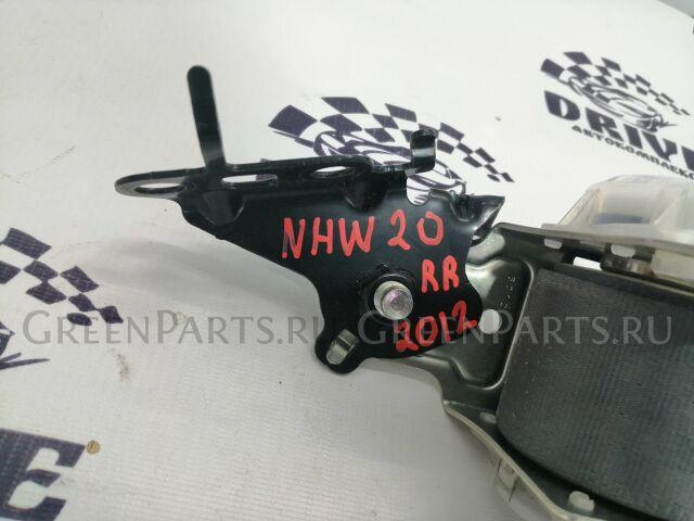 Ремень безопасности на Toyota Prius NHW20 1NZ