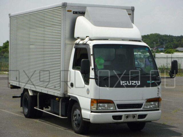 Фургон Isuzu ELF 1998 с пробегом (б у) во Владивостоке. Объявление ... 760b7344b31