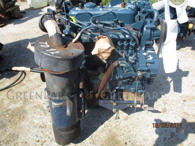 Двигатель на KUBOTA ASTE A-15