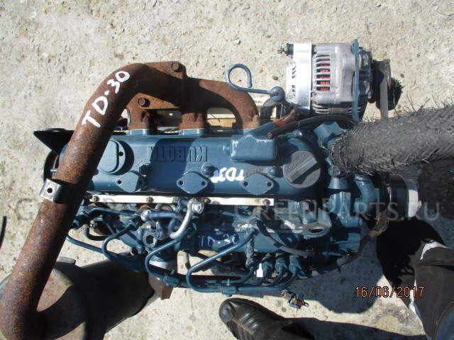 Двигатель на KUBOTA GT-3