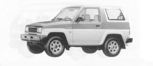 DAIHATSU ROCKY 1990 г.