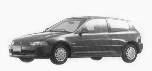 HONDA CIVIC 1993 г.